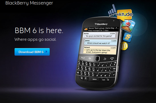 Blackberry Messenger 6 – Lets be 'Social'
